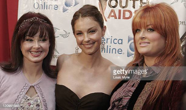 Naomi Judd Ashley Judd and Wynonna Judd during Youth AIDS Gala with Ashley Judd Arrivals September 14 2005 at Washington DC in Washington District of...