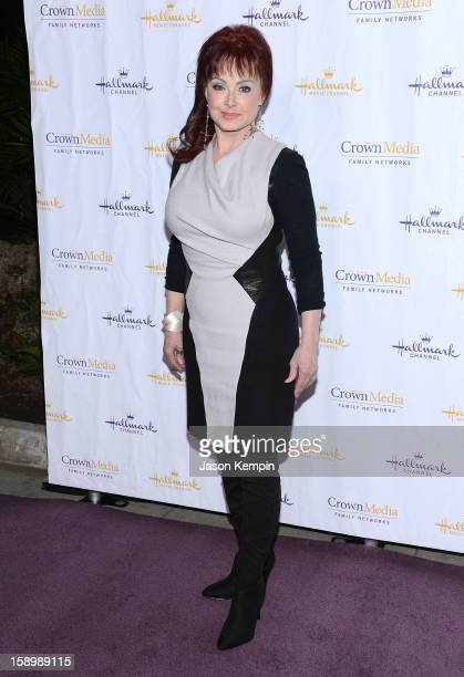 Naomi Judd attends the Hallmark Channel and Hallmark Movie Channel's 2013 Winter TCA Press Gala at The Huntington Library and Gardens on January 4...