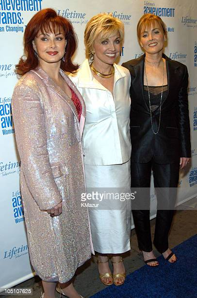 Naomi Judd Carole Black President and CEO of Lifetime and Laura Innes