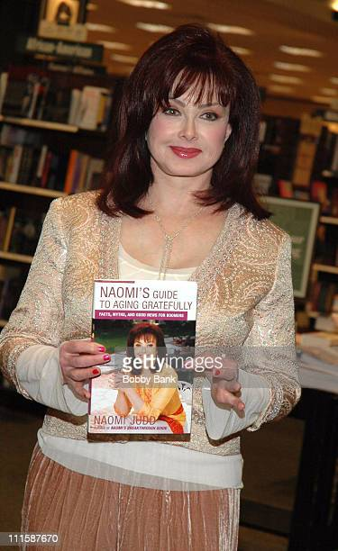 Naomi Judd during Naomi Judd Book Signing 'Naomi's Guide to Aging Gratefully' at Barnes Noble in Freehold New Jersey United States