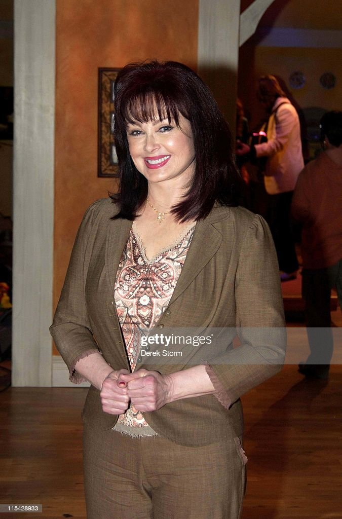 "Naomi Judd on location for her talk show ""Naomi's New Morning"""