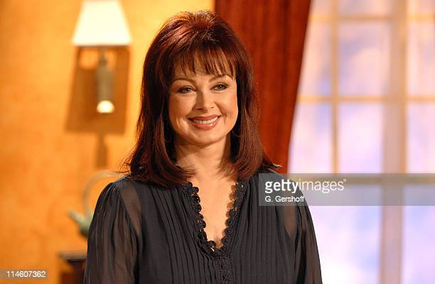 Naomi Judd during Wynonna Judd Appears with Mother Naomi on Her Show 'Naomi's New Morning' at Metropolis Studios in New York City New York United...