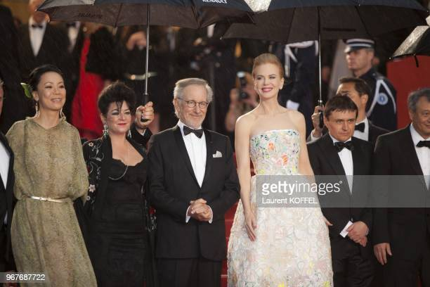 Naomi Kawase Lynne Ramsay Steven Spielberg Nicole Kidman Cristian Mungiu and Ang Lee attend Electrolux at Opening Night of The 66th Annual Cannes...