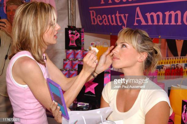 Naomi Lowde at MB York Beauty Ammo during Silver Spoon Hollywood Buffet Day One at Private Estate in Hollywood California United States Photo by...