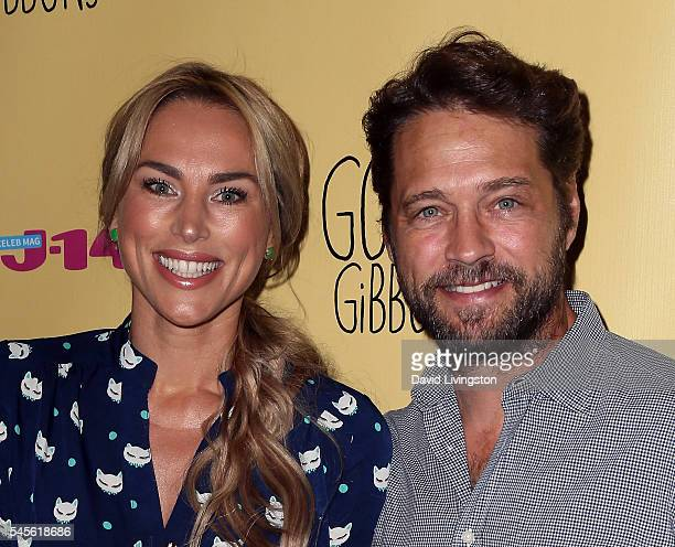 Naomi LowdePriestley and husband actor Jason Priestley attend a celebration of Amazon's Gortimer Gibbon's Life on Normal Street Season 2 at Racer's...