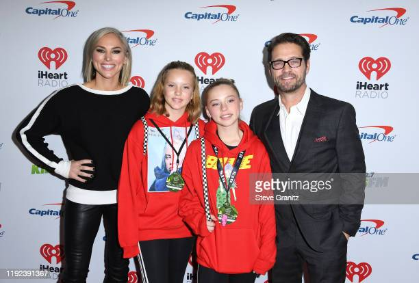 Naomi LowdePriestley guest Ava Veronica Priestley and Jason Priestley attend KIIS FM's Jingle Ball 2019 presented by Capital One at The Forum on...