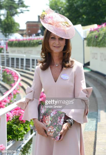 Naomi Maguire attends day 2 of Royal Ascot at Ascot Racecourse on June 21 2017 in Ascot England