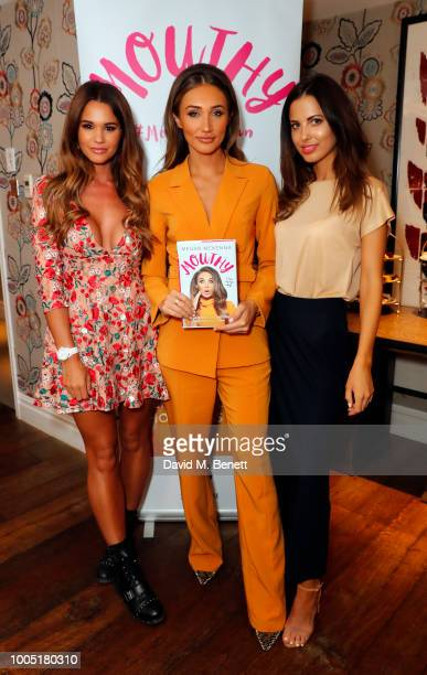 Naomi MilbankSmith Megan McKenna and Sophia Smith attend the launch of Megan McKenna's new book 'Mouthy Unfiltered Uncensored and Honest As Ever' at...