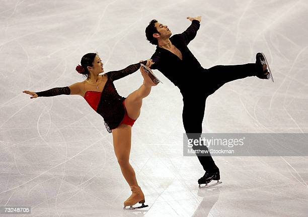 Naomi Nari Nam and Themistocles Leftheris compete in the pairs short program during the ISU Four Continents Figure Skating Championships February 7...