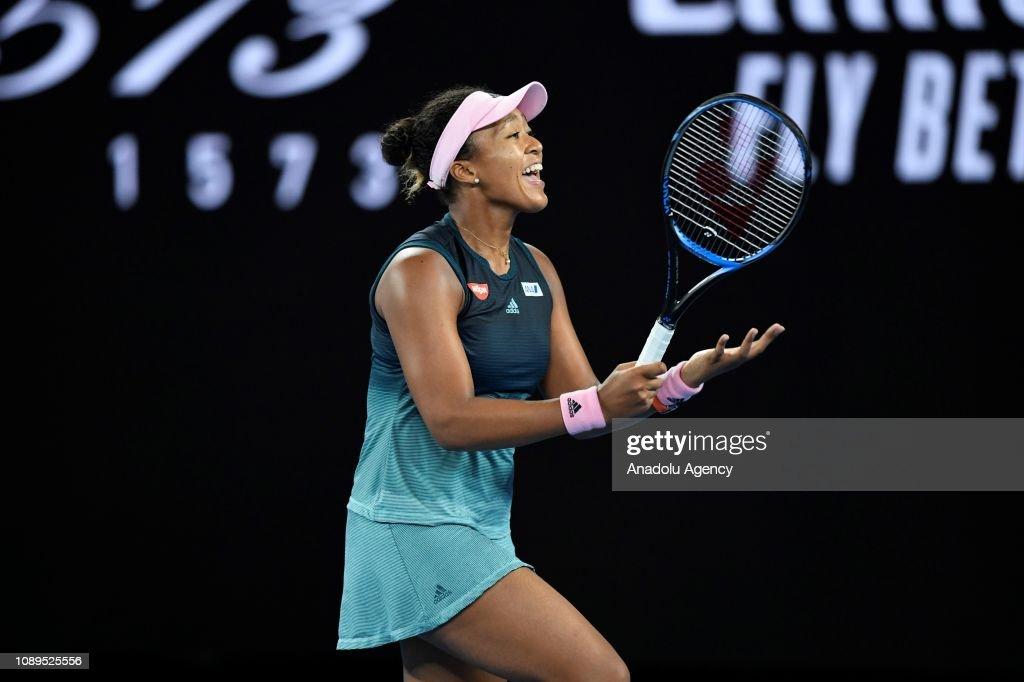 Japan's Osaka beats Kvitova to win 2019 Australian Open : News Photo