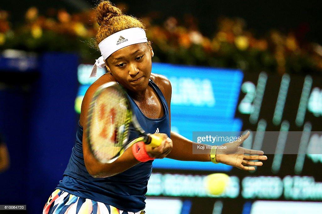 Toray Pan-Pacific Open Tennis 2016 - Day 6 : News Photo