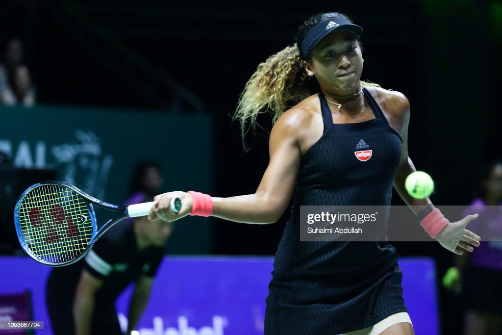 BNP Paribas WTA Finals Singapore presented by SC Global - Day 6 : News Photo