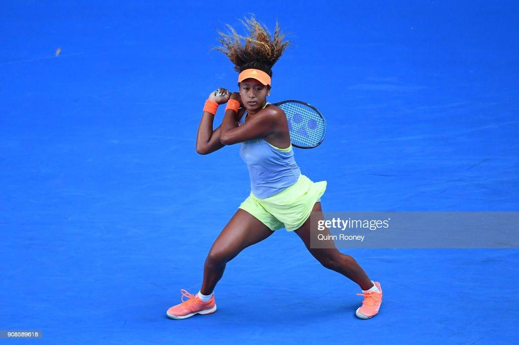 2018 Australian Open - Day 8 : News Photo
