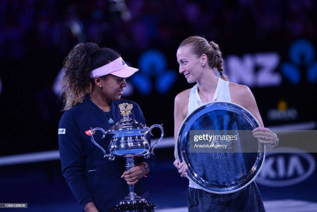 Japan's Osaka beats Kvitova to win 2019 Australian Open : News Photo