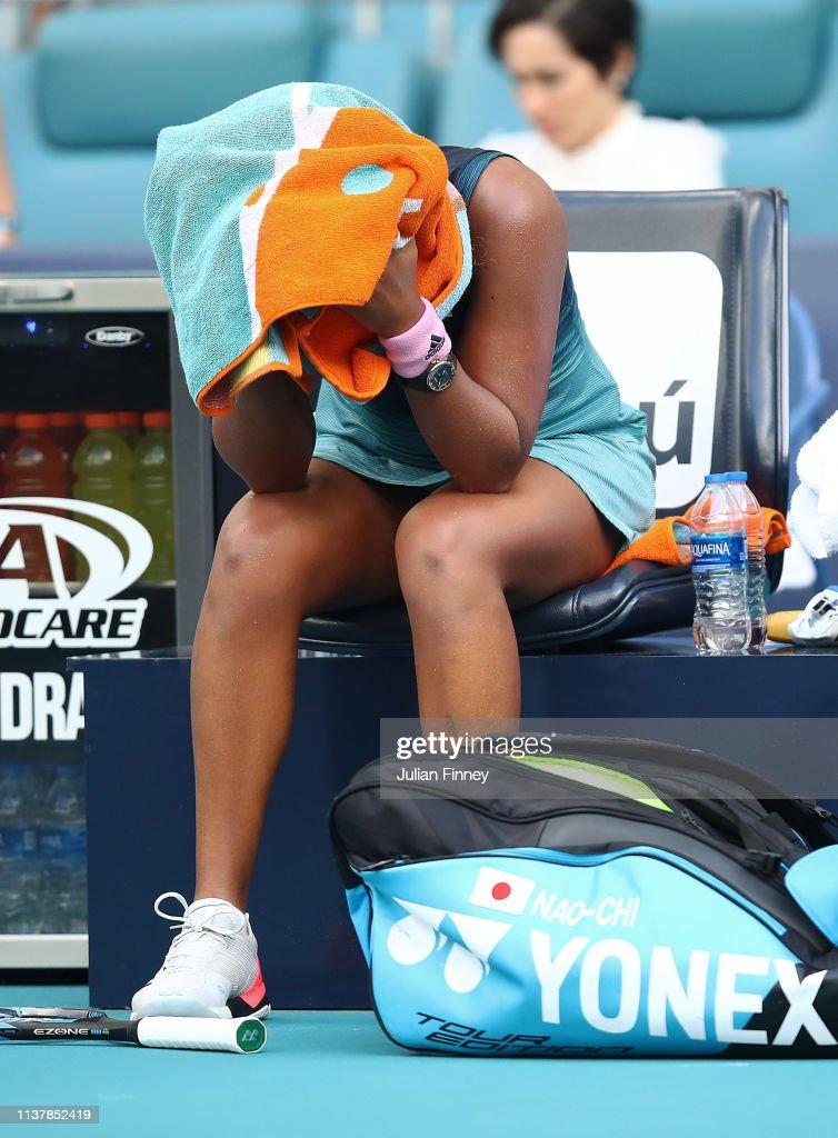 Miami Open 2019 - Day 6 : ニュース写真