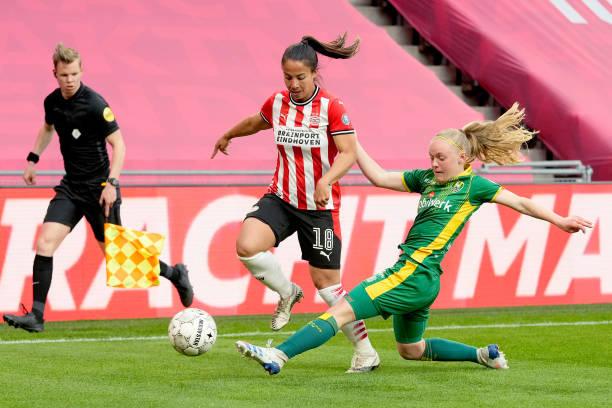 NLD: PSV Eindhoven v ADO Den Haag - Women's Eredivisie Championsship