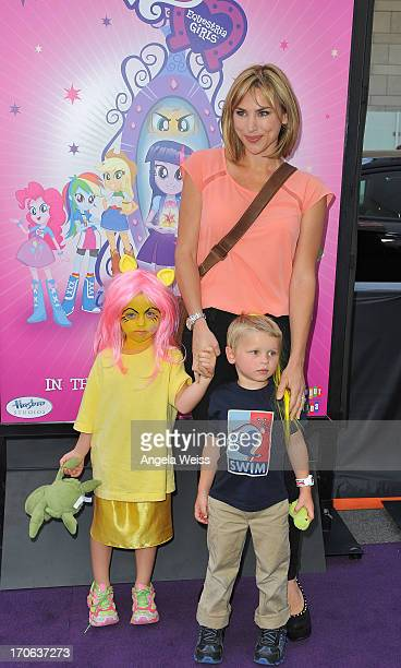 Naomi Priestley arrives at the 2013 Los Angeles Film Festival Premiere of Hasbro Studios' My Little Pony Equestria Girls at Regal Cinemas LA Live on...