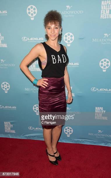 Naomi Rhema attends the Festival Gala at CIA at Copia during ithe 7th Annual Napa Valley Film Festival on November 11 2017 in Napa California