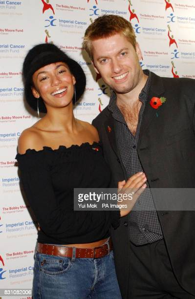Naomi Russell and Stephen Beckett arrive at the Bobby Moore Fund for Imperial Cancer's Sports Quiz at the Brewery in London. Fifty teams compete to...