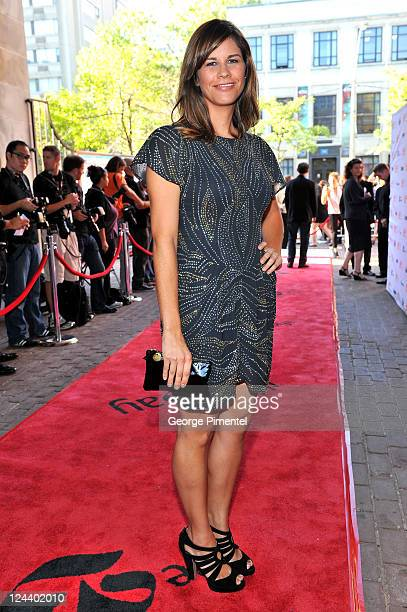 Naomi Sablan arrives at Friends With Kids Premiere at Ryerson Theatre during the 2011 Toronto International Film Festival on September 9 2011 in...