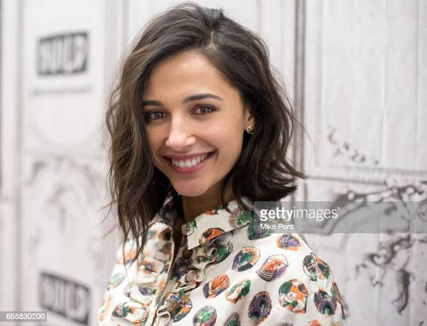 Naomi Scott attends Build Series to discuss Power Rangers at Build Studio on March 20 2017 in New York City