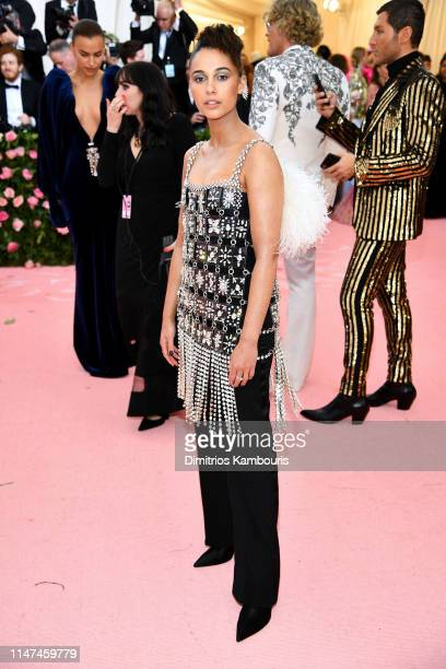 Naomi Scott attends The 2019 Met Gala Celebrating Camp: Notes on Fashion at Metropolitan Museum of Art on May 06, 2019 in New York City.
