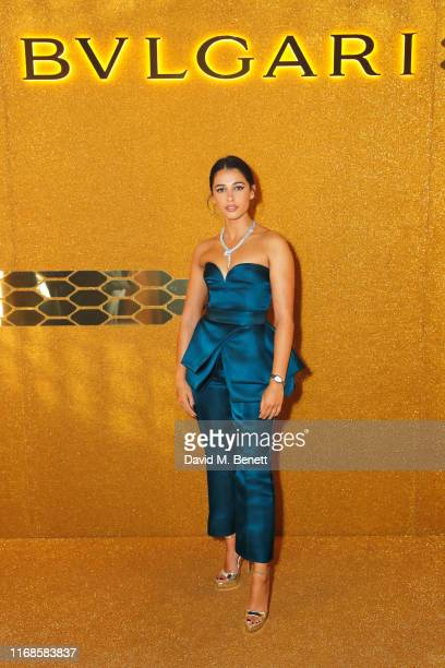 Naomi Scott attends the Bvlgari Serpenti Seduttori launch at the Roundhouse on September 15 2019 in London England