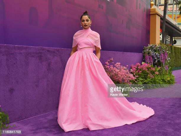 Naomi Scott attends the premiere of Disney's Aladdin at El Capitan Theatre on May 21 2019 in Los Angeles California
