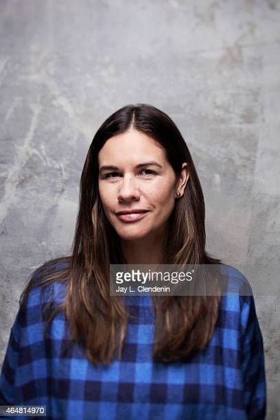 Naomi Scott is photographed for Los Angeles Times at the 2015 Sundance Film Festival on January 24 2015 in Park City Utah PUBLISHED IMAGE CREDIT MUST...