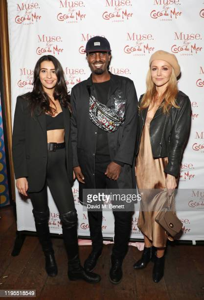 Naomi Sharp Stagg Mason Smillie and Stephanie Prentice attend the launch of Muse by Coco De Mer at Sketch on January 23 2020 in London England