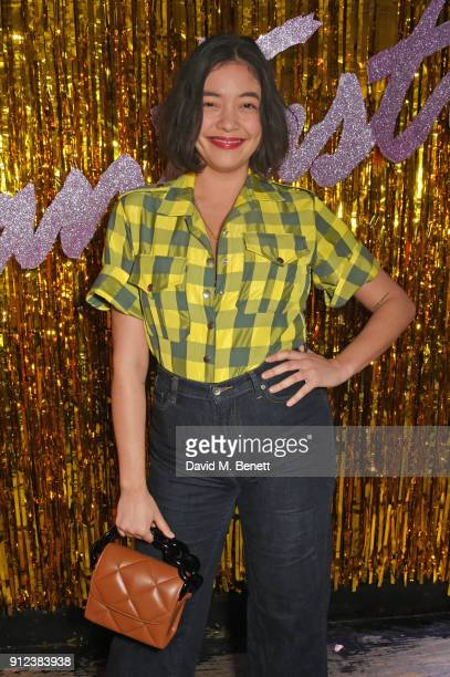 Naomi Shimada attends the ALEXACHUNG Fantastic collection party on January 30 2018 in London England