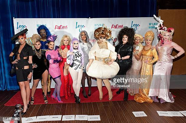 Naomi Smalls Naysha Lopez Bob The Drag Queen Cynthia Lee Fontaine Derrick Barry Laila McQueen Dax ExclamationPoint Kim Chi Thorgy Thor Chi Chi...