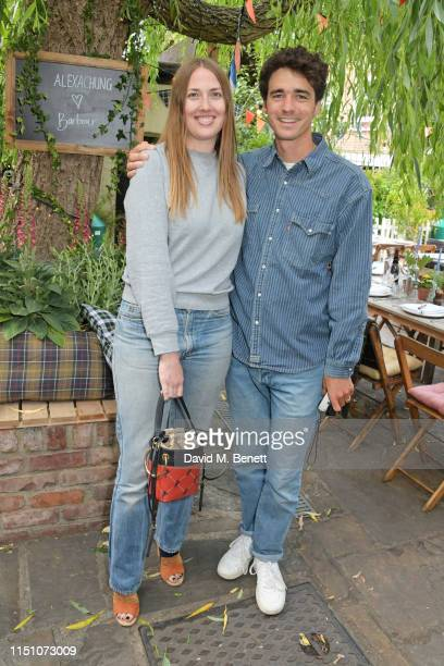 Naomi Smart and Arthur Guinness attend the VIP London launch of the Barbour by ALEXACHUNG collection at The Albion on June 20 2019 in London England