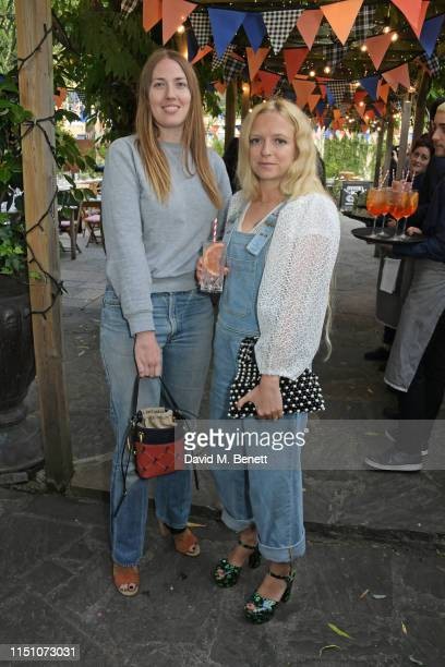 Naomi Smart and Hannah Weiland attend the VIP London launch of the Barbour by ALEXACHUNG collection at The Albion on June 20 2019 in London England