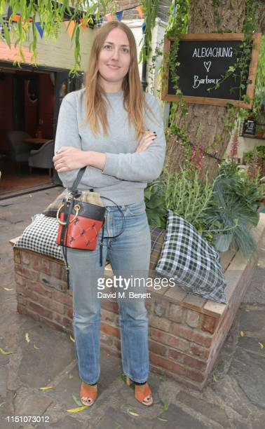 Naomi Smart attends the VIP London launch of the Barbour by ALEXACHUNG collection at The Albion on June 20 2019 in London England