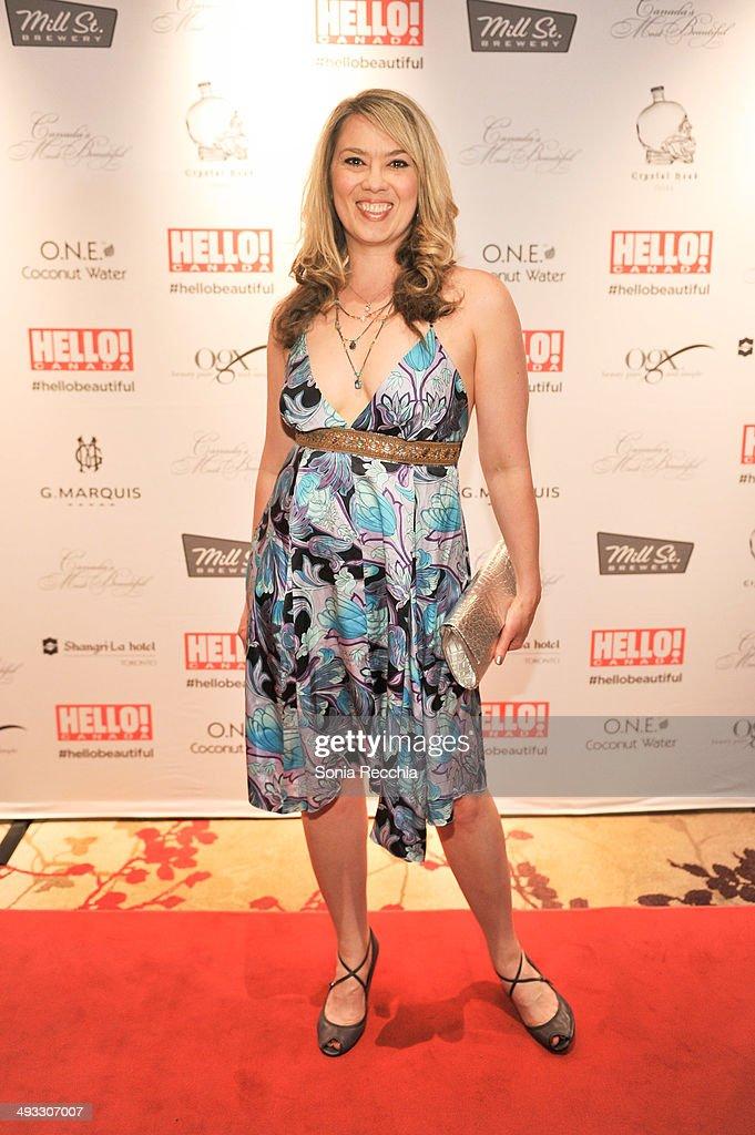 Naomi Snieckus attends HELLO! Canada Gala Celebrates Canada's Most Beautiful Gala at Shangri-La Hotel on May 22, 2014 in Toronto, Canada.