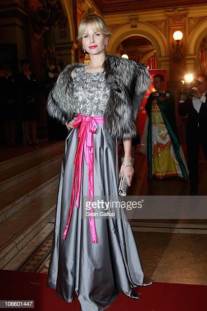 Naomi Valeska Kern attends the Sportpresseball 2010 at Alte Oper on November 6 2010 in Frankfurt am Main Germany