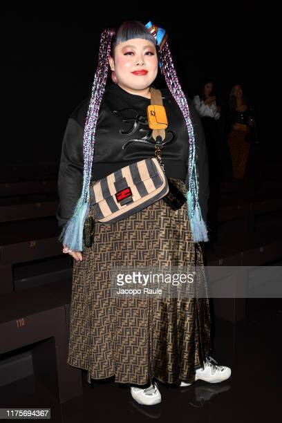 Naomi Watanabe attends the Fendi fashion show during the Milan Fashion Week Spring/Summer 2020 on September 19 2019 in Milan Italy
