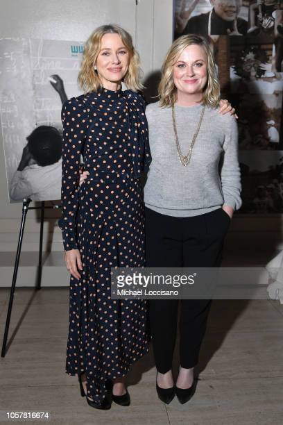 Naomi Watts and Amy Poehler attend the Worldwide Orphans 14th Annual Gala at Cipriani Wall Street on November 5 2018 in New York City