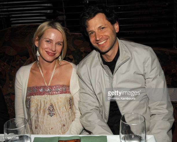 Naomi Watts and Bennett Miller during Magnolia Pictures 'Crazy Love' New York Premiere After Party at Merchant's in New York City New York United...