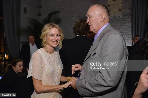 Naomi Watts and Chuck Wepner at The Bleeder TIFF party hosted by GREY GOOSE Vodka at Storys Building on September 10, 2016 in Toronto, Canada.