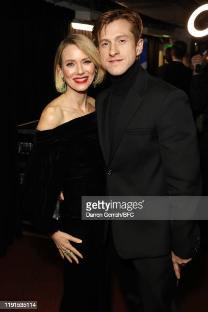 Naomi Watts and Daniel Lee backstage stage during The Fashion Awards 2019 held at Royal Albert Hall on December 02, 2019 in London, England.