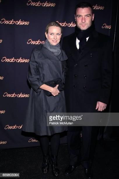 Naomi Watts and Liev Schreiber attend INDOCHINE'S 25th Anniversary Celebration at Indochine on November 20 2009 in New York