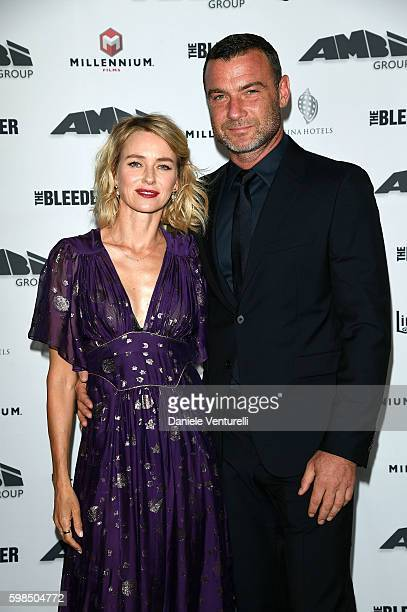 Naomi Watts and Liev Schreiber attends AMBI Exclusive Dinner in honor of 'The Bleeder' starring Naomi Watts and Liev Schreiber during the 73rd Venice...
