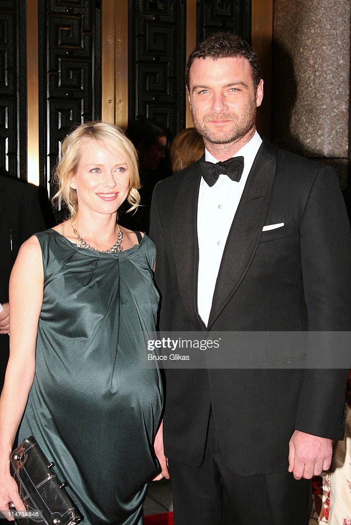 Naomi Watts and Liev Schreiber during 61st Annual Tony Awards - Arrivals at Radio City Music Hall in New York City, New York, United States.