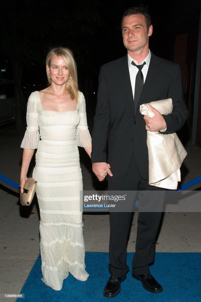 Naomi Watts and Liev Schreiber during La Dolce Vita - The New York Academy of Art 2006 Tribeca Ball at Skylight Studios in New York City, New York, United States.