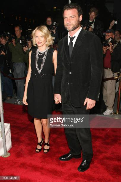 Naomi Watts and Liev Schreiber during 'New Yorkers For Children' Annual Fall Gala Dinner arrivals at Ciprianis 42nd Street in New York New York...