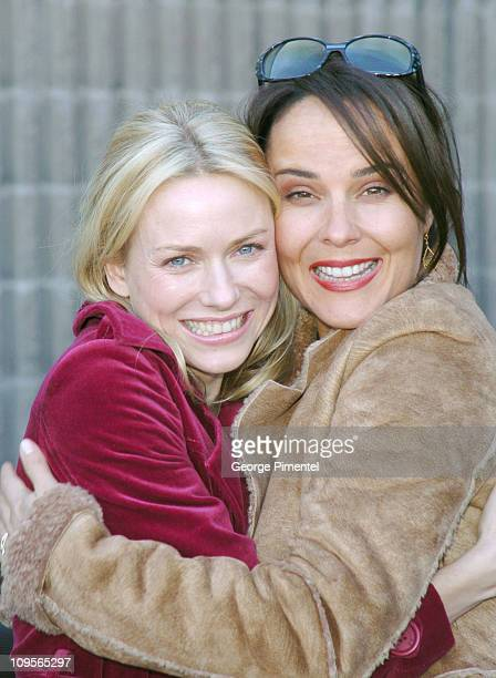 Naomi Watts and Rebecca Rigg during 2005 Sundance Film Festival Ellie Parker Premiere at Racquet Club in Park City Utah United States