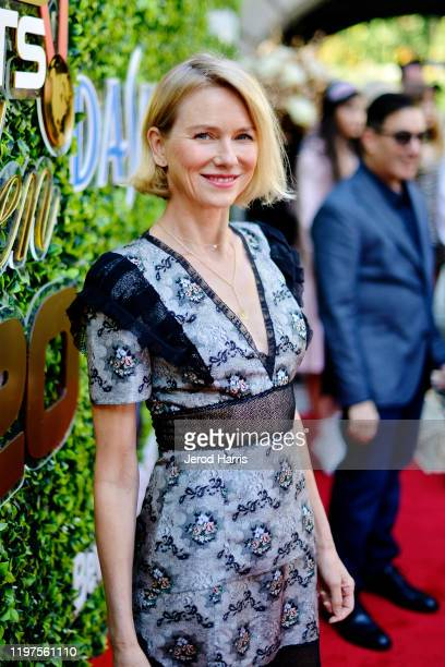 Naomi Watts arrives at the 7th Annual Gold Meets Golden at Virginia Robinson Gardens and Estate on January 04, 2020 in Los Angeles, California.
