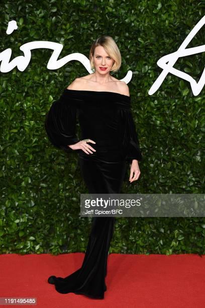 Naomi Watts arrives at The Fashion Awards 2019 held at Royal Albert Hall on December 02, 2019 in London, England.